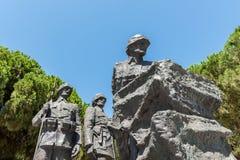 Canakkale Martyrs le cimetière militaire commémoratif dans Canakkale image stock