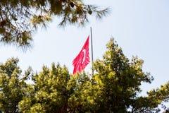 Canakkale Martyrs le cimetière militaire commémoratif dans Canakkale photographie stock libre de droits