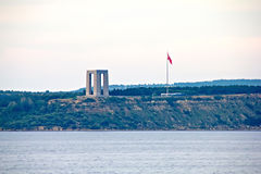 Canakkale Martyrs Memorial Stock Photos