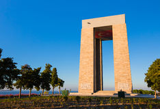 Canakkale Martyrs' Memorial. Turkey for battle of Gallipoli Royalty Free Stock Photos