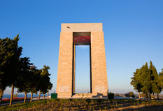 Canakkale Martyrs' Memorial Royalty Free Stock Photos