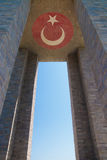 Canakkale Martyrs Memorial in Turkey Stock Photo