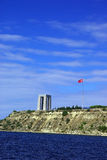 Canakkale martyrs memorial view from sea Stock Images