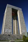Canakkale monument. Monument of Canakkale of first world war Royalty Free Stock Photography