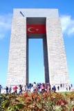 Canakkale monument Royaltyfria Bilder