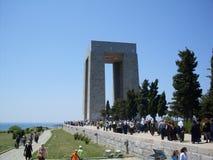 Canakkale monument.  Stock Photo