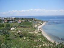 Canakkale sea sight Stock Image