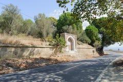 CANAKKALE, SEP, 2016 VAN TURKIJE 12: Halilpasha fontein dichtbij door Havuzlar Cemetery en Gedenkteken Deze fontein ligt 3km na K Stock Afbeeldingen