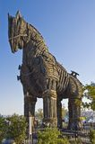 Canakkale, Turkey. Troy wooden horse at Canakkale, Turkey Stock Photo