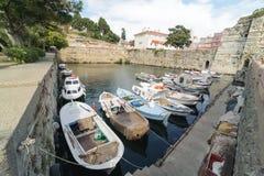 CANAKKALE, TURKIJE 20 JULI, 2016: Haven van panapoma van Gallipoli Gelibolu De Macedonische stad van Callipolis werd opgericht in Stock Foto