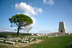 Canakkale war cemetery Royalty Free Stock Photos