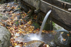 Canalón de agua Fotografía de archivo libre de regalías