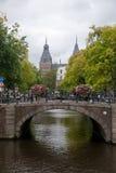 Canal à Amsterdam Photo libre de droits