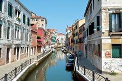 Canal à Venise Images stock