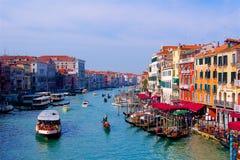 Canal à Venise, Italie l'Europe photo libre de droits