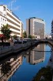 Canal 02 de Aarhus Foto de archivo libre de regalías