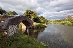 Canal Foto de archivo libre de regalías