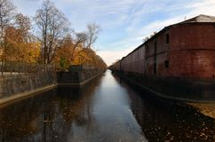 Canal photographie stock