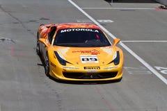 Canal adutor de Sonoma do desafio de Ferrari Imagens de Stock