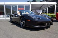 Canal adutor de Sonoma do desafio de Ferrari Imagens de Stock Royalty Free