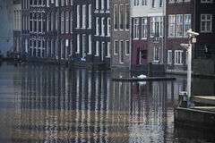 Canal of Amsterdam Stock Photos