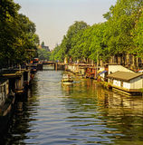 Canal, Amsterdam Royalty Free Stock Image
