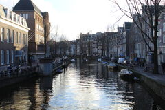 Canal of Amsterdam Royalty Free Stock Photography