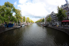 A canal in Amsterdam Royalty Free Stock Image