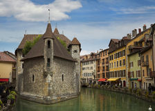 Canal at Annecy in France Stock Images