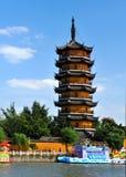 Canal antique de Guta à Yangzhou Image stock