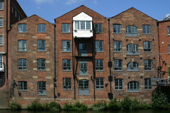 Canal Apartments Stock Image
