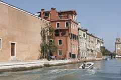 Canal and Arsenal, Venice Royalty Free Stock Image