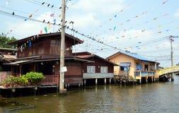 Canal Bangkok-Yai in Bangkok, Thailand Royalty Free Stock Photography