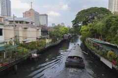 Canal Banguecoque Imagens de Stock