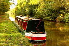 Canal barge Royalty Free Stock Photos