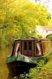 Canal barge Royalty Free Stock Image