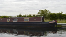 Canal Barge Royalty Free Stock Photo