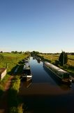 Canal barges Norbury Junction Royalty Free Stock Image