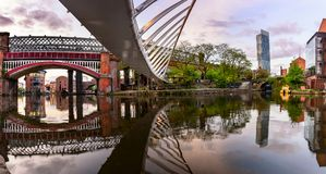 Castlefield Manchester UK Stock Photography