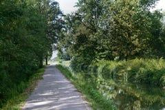 Canal of Bereguardo (IMilan) Stock Photo