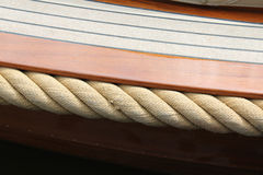 Canal boat. Close up of a canal boat Stock Image