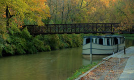 Canal Boat Stock Images