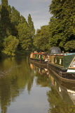 Canal Boat Stock Image