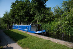 Canal Boating Stock Image
