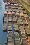 Canal boats Stock Photos