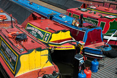 Canal Boats Royalty Free Stock Images
