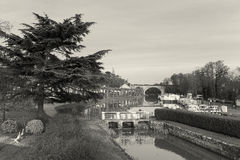 Canal of Briare Royalty Free Stock Photo