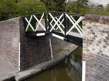 Canal bridge Royalty Free Stock Photography