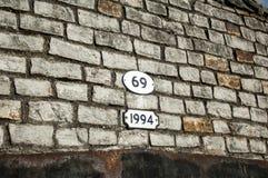 Canal bridge brick work Royalty Free Stock Image