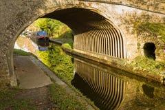 Canal Bridge Stock Photo